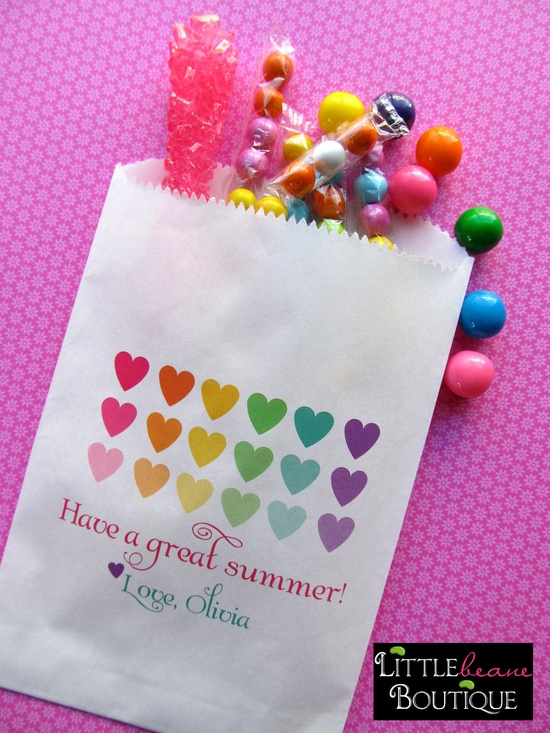 Darling candy favor bags #candy #favor #bags for candyland party!
