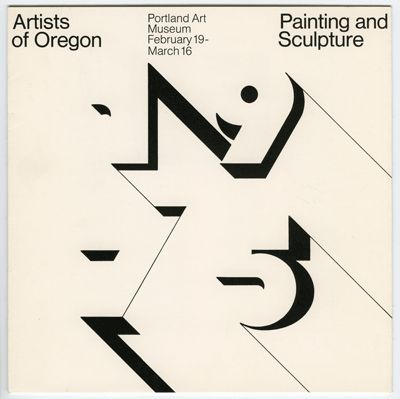 A 1975 brochure for the Portland Art Museum.