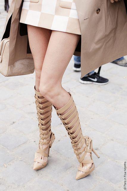 Those shoes! At Paris Fashion Week by Paris in Four Months
