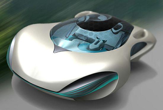 Taihoo 2046 Concept Car - new thinking on future cars from China...