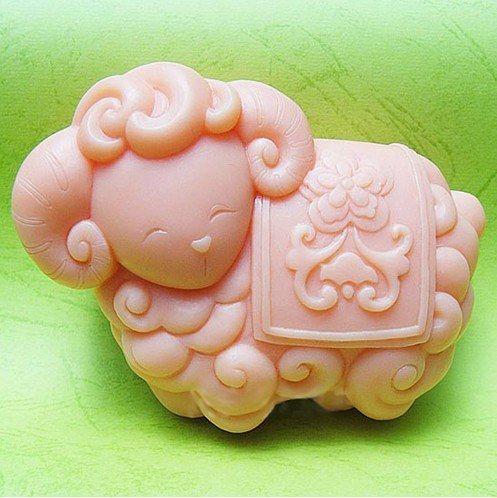 Silicone Handmade Soap Mold Chocolate Mold Sheep