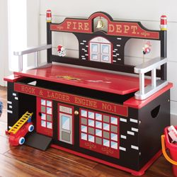 Fireman Toy Chest