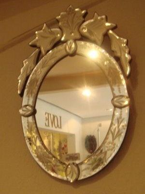 Espelho veneziano.