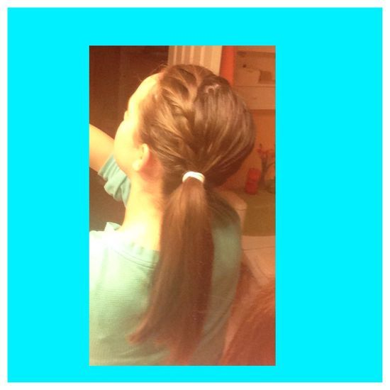 French braid #handmade roses #handmade dovetail joints #snap your fingers