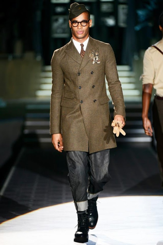 Dsquared2 Fall Winter 2013/2014 Men's Collection