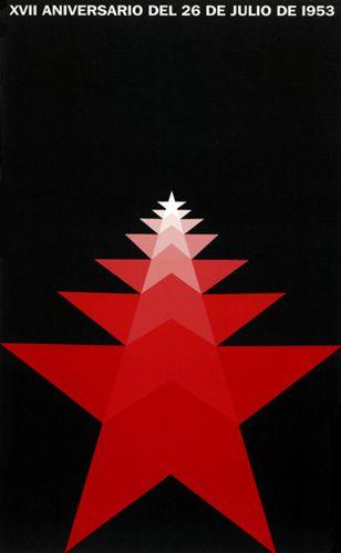 Cuban poster, 1953