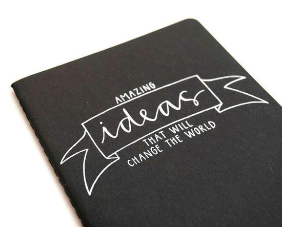 amazing ideas notebook