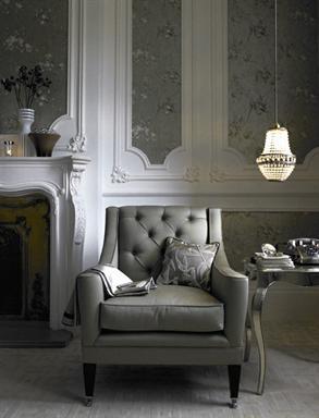 Where's your ascot? #grey #fireplace #livingroom