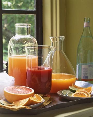 Fresh Citrus Juice Bar