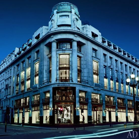 #Burberry flagship store on Regent St. in #London
