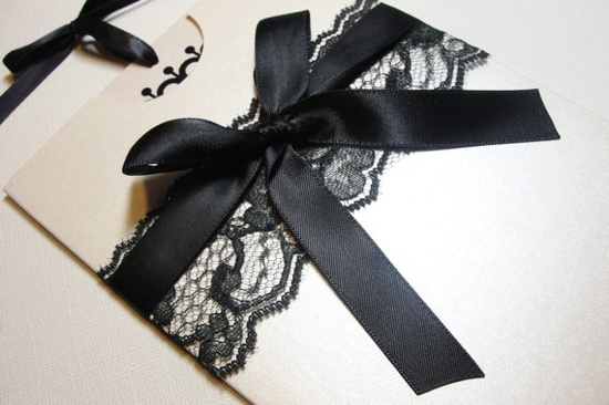 for a black and white wedding