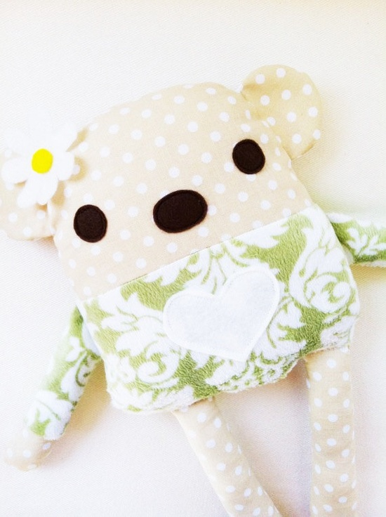 i like a lot of these....  Toy Bear Sewing Pattern  Bear Doll  PDF by GandGPatterns on Etsy, $8.00