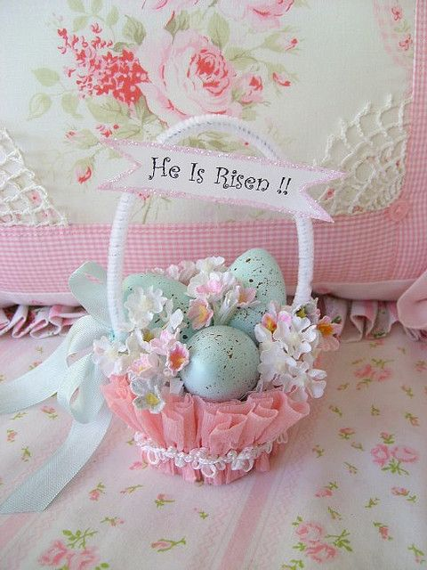 Super Cute easter basket
