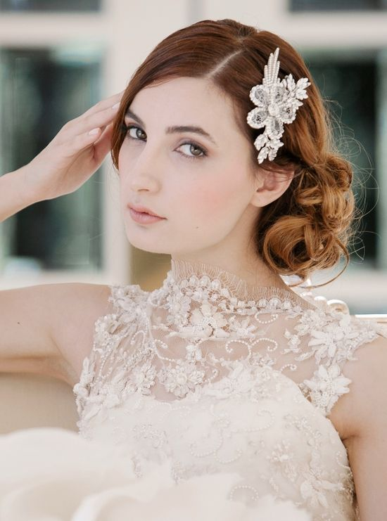 Daisy Comb from Enchanted Atelier's Fall 2014 Collection, photo by Millie B Photography