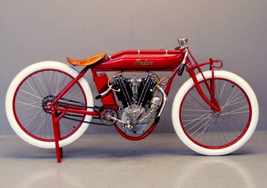 A beauty . . . 1913 Indian Boardtrack Racer
