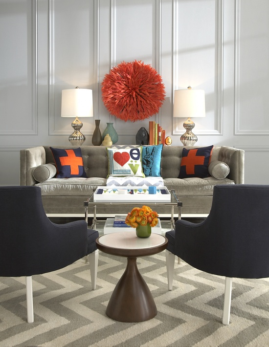 Happy living room design