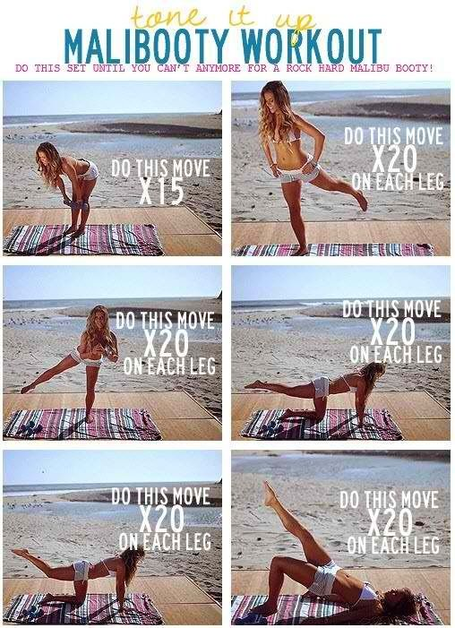 Summer body workout ~ click on it and it actually has motion