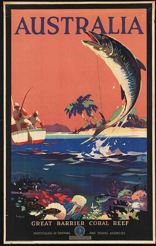 Travel Poster - Australia