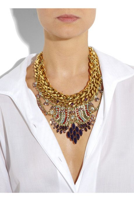 statement jewelry...holy cow. I love this.
