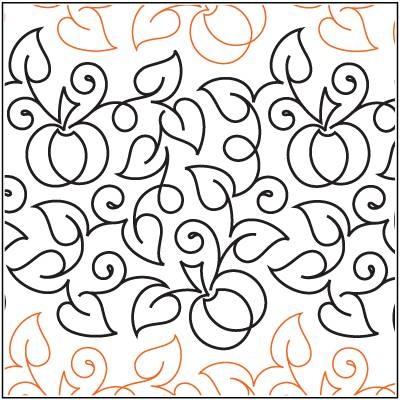 """Pumpkin Patch Paper Pantograph 12.5"""""""