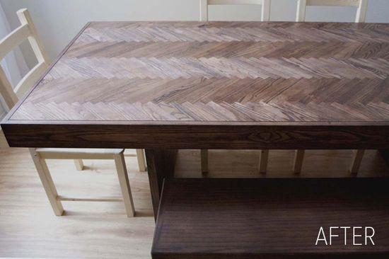 beautiful DIY table!