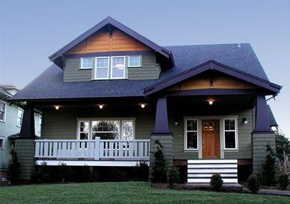 bungalow craftsman house plans - Google Search