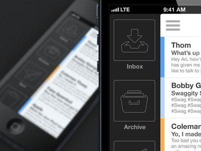 iPhone Mail App