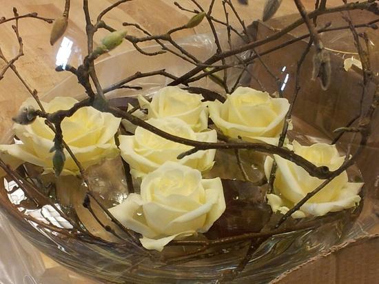 Mystical flower arrangement