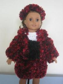 Coat For American Girl Doll