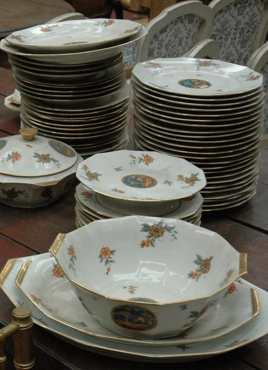 Vintage Limoges dinner set
