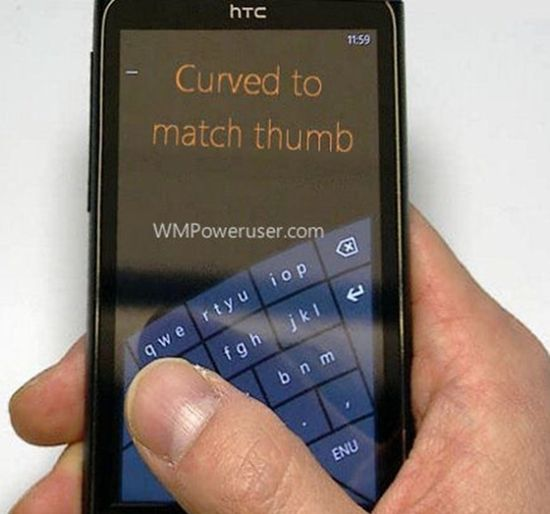 Windows Phone 8 to get curvy one-handed keyboard? cnet.co/LsTt8B #windows #phone