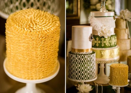 Ruffled Cake #roaring '20s #Gatsby desserts