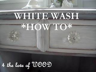 White Wash Tutorial