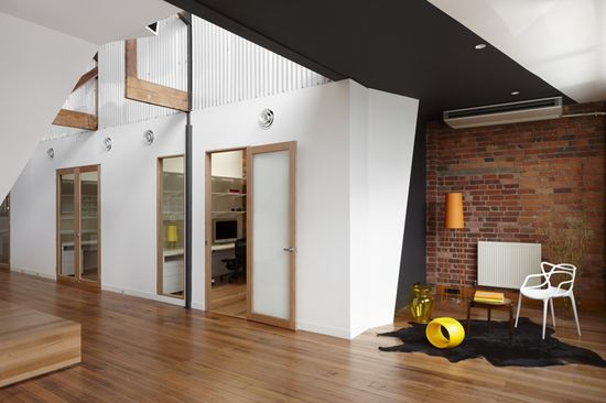 CREATIVE OFFICES! Paper Stone Scissors office by Russell & George, Melbourne office design