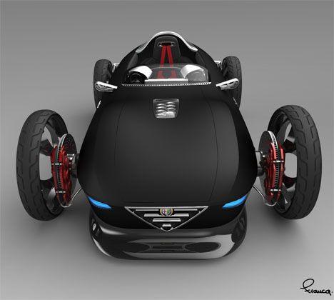 Alpha Romeo Spogliato Sports Car