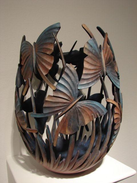 Ron Layport...wood  --via>Wood Art<  *beautiful*