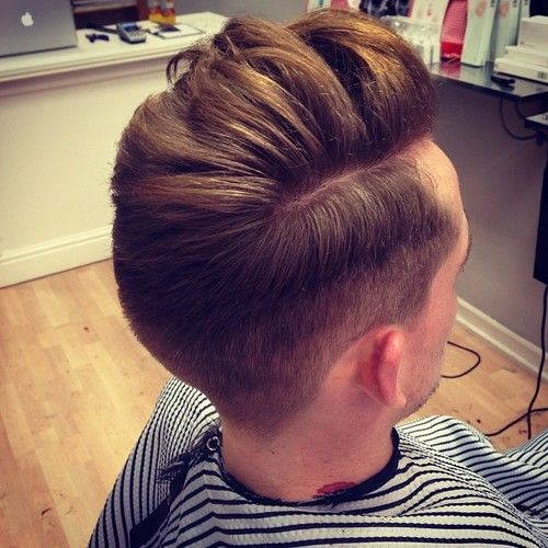 Mens Hair Style Back - Short