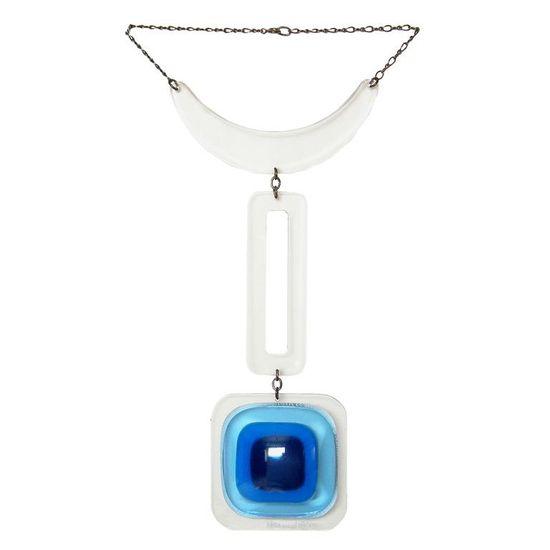 Aaronel Deroy Gruber Plexiglas Necklace