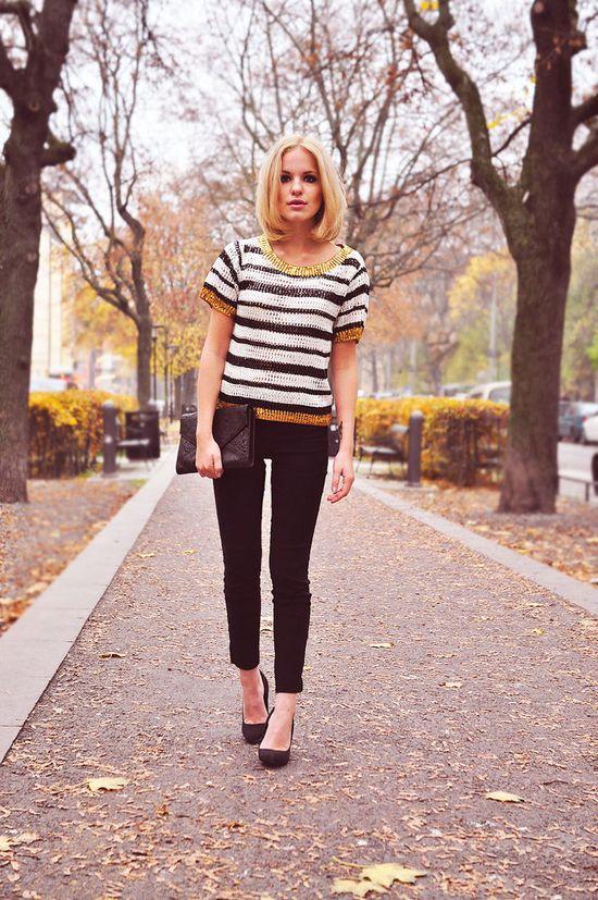stripes + pixie pants