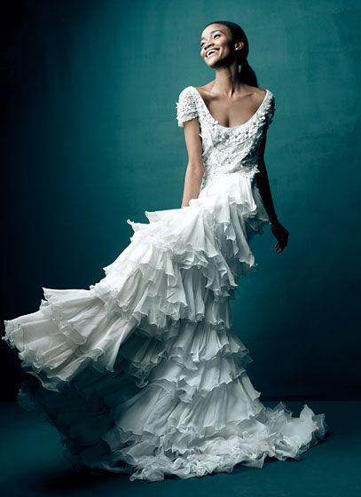 pretty dress ~ Vera Wang