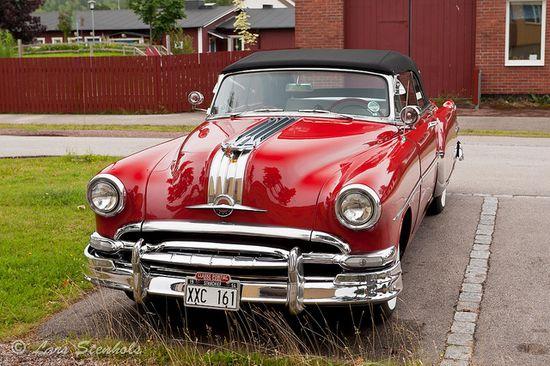 Pontiac Star Chief Convertible 1954.