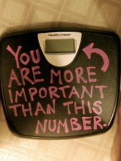 Don't give up just because the scale doesn't read the number you want
