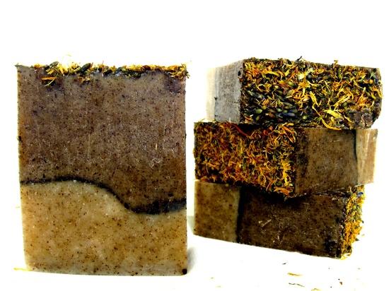 Organic vegan soap -  the BACKWOODS bar - Organic soap, vegan soap, handcrafted soap, natural soap, camping soap.