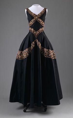 Evening dress, ca. 1938 -