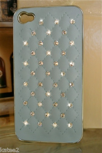 Tiffany blue bling iphone case!
