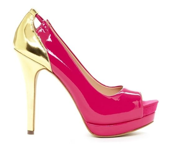 pink & gold #girl fashion shoes #my shoes