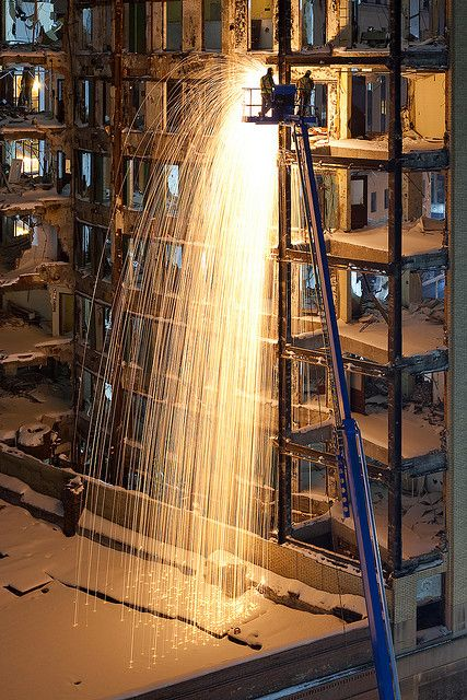 lafayette demolition steel cutters by gsgeorge, via Flickr
