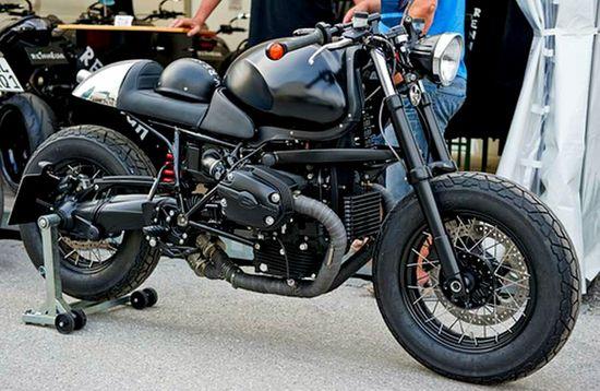 Flat black racer