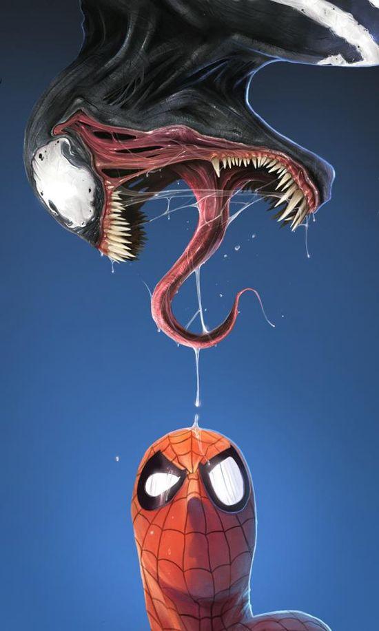 Spider-Man & Venom - Dan Luvisi