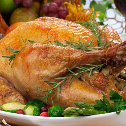Rosemary Garlic Roast Turkey